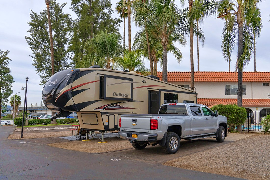 Vacationer RV Park in San Diego
