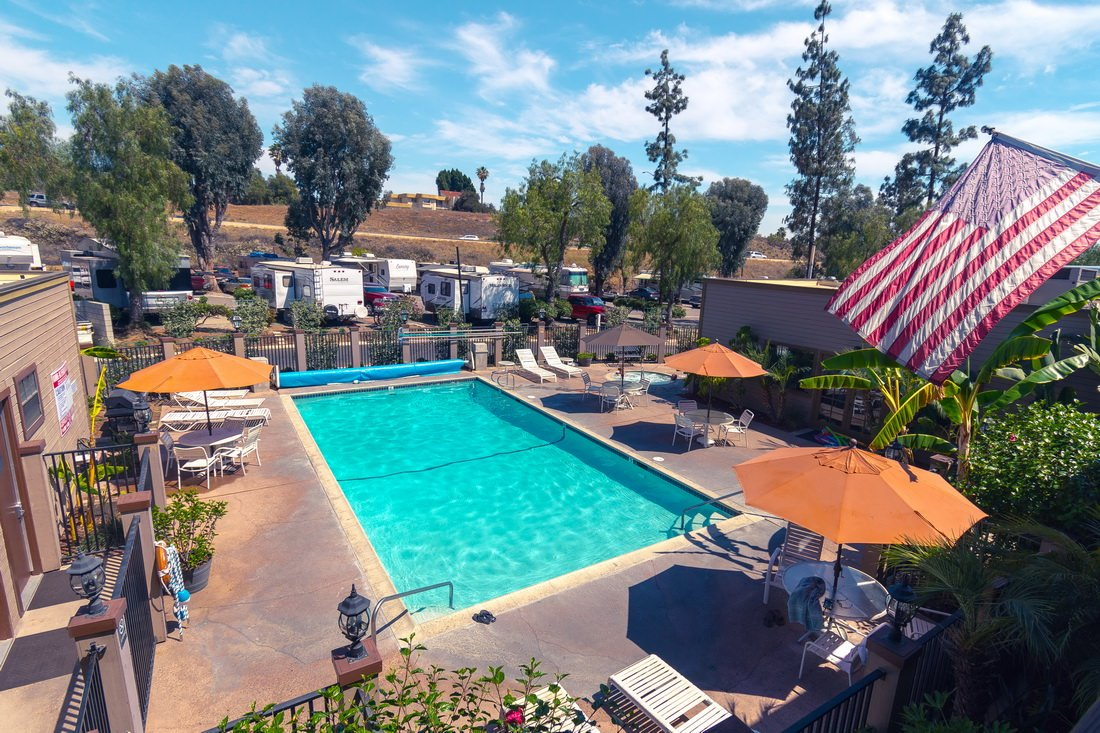 Circle RV Resort in El Cajon